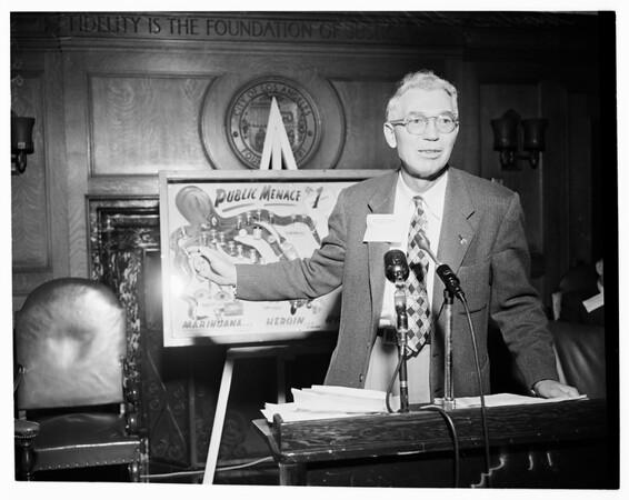 Mayor's Narcotic Hearing, 1953