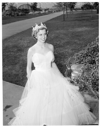 El Camino Junior College Queen, 1954