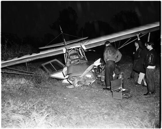 Plane crash, 1958