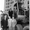 Remington Rand ground breaking -- Wilshire and Coronado, 1951