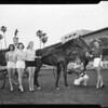 Horses -- Race -- Harness Queen, 1958