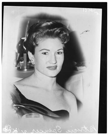 Girl suicide, 1958