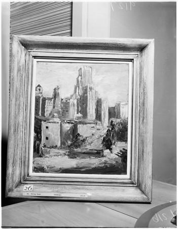 Art, painting, 1951