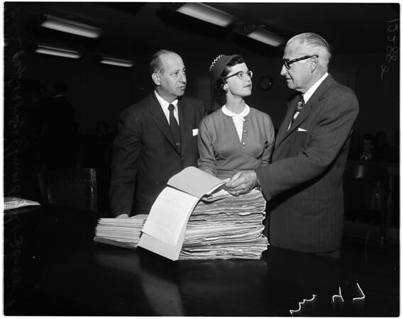 Backlog, Reciprocal files, 1958
