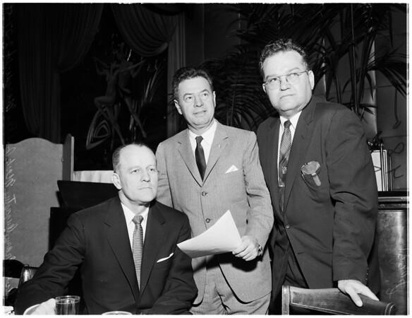 Los Angeles Bar Association, 1958.