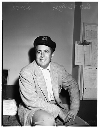 Outdoor Editor of Examiner, 1952
