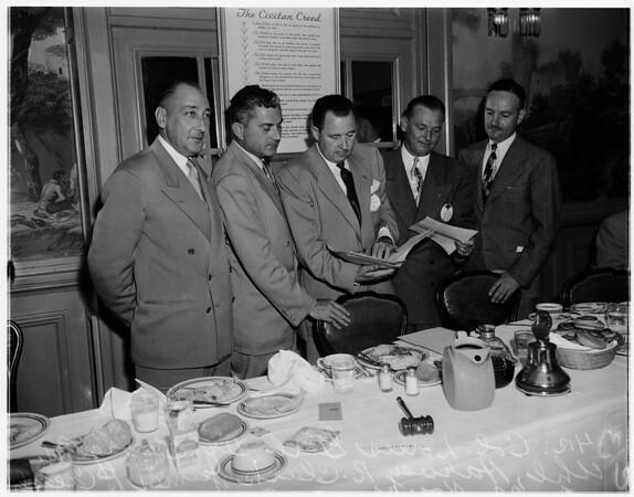Defense kit meeting, 1951