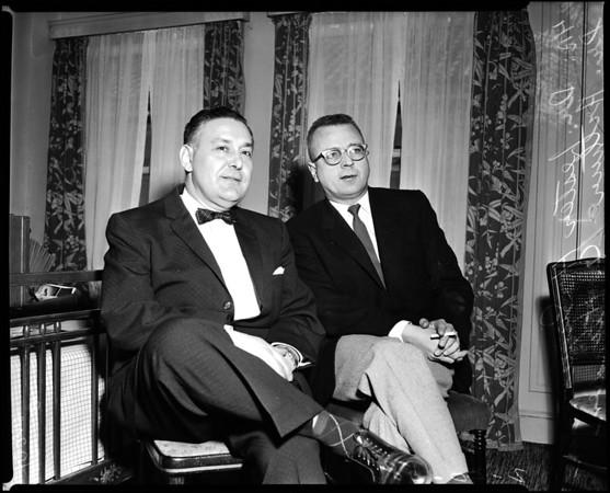California Optometric Association Congress, 1958