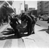 Suicide victim, 1958