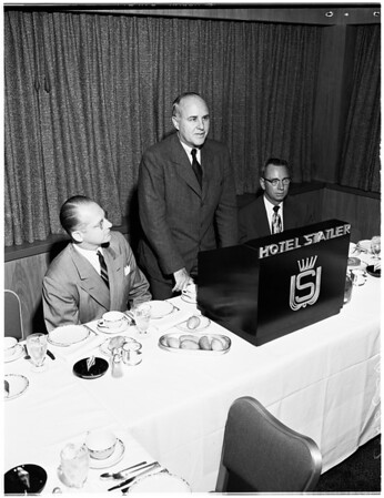 Sales Executives banquet, 1952