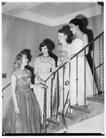 Theta Upsilon Sorority ...Iris Ball ...Del Mar Club, 1951