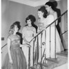 Theta Upsilon Sorority ...Iris Ball ...Del Mar Club, 1951