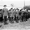 R.O.T.C. Cadets, Loyola receiving awards, 1952
