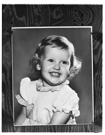 Pamela Mathes -- 2½ years (died of sleeping pills she found in a bottle), 1951