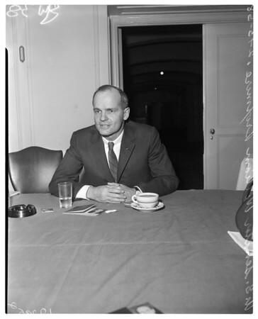 Wisconsin Senator at Biltmore, 1958
