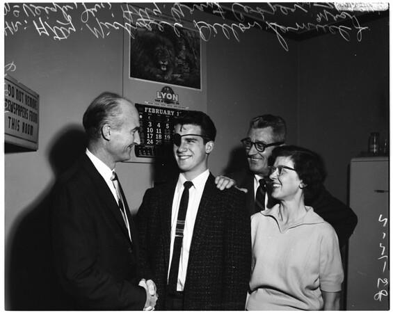 Samuel J. McVeigh Junior -- 20 years, 1958