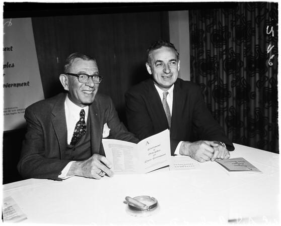Republican associates, 1958