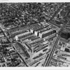 Aerial view of Union Terminal Market, downtown Los Angeles, ca.1930-1935