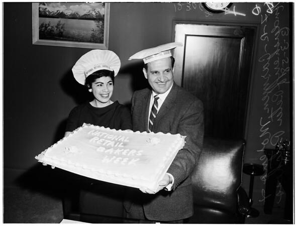 National Bakers Association week, 1958