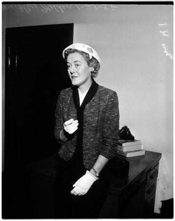 Mrs. Alice Madden -- 46 years, 1958