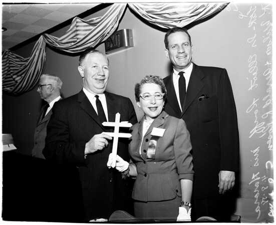 Tuberculosis luncheon, 1958