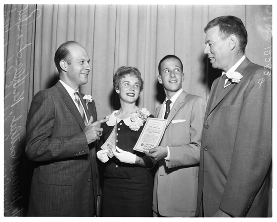 Ephebian society, 1958