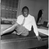 Boxer in auto crash (injured), 1958