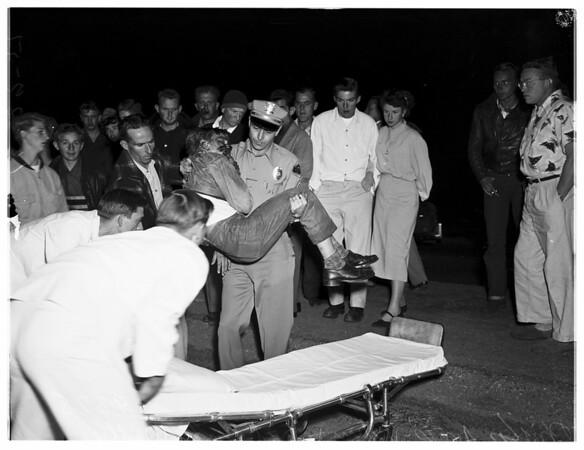 Auto Accident, Pomona, 1951