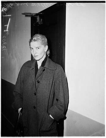 Waller Case, 1958.