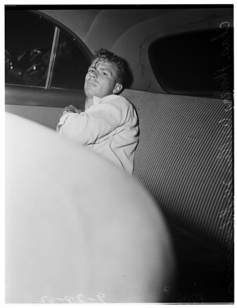 Hit and run suspect, 1952