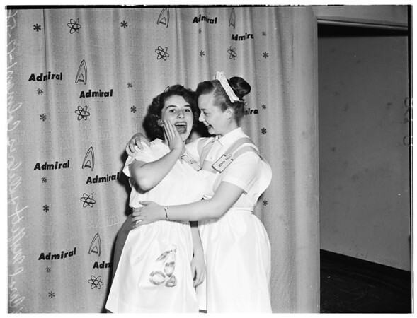 Pie baking contest, 1958