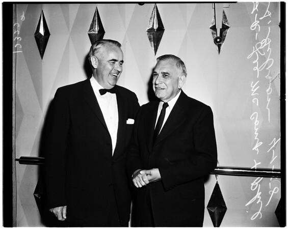 Beverly Hills Bar Association meeting, 1958.