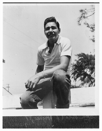 Suicide over traffic citation, 1951