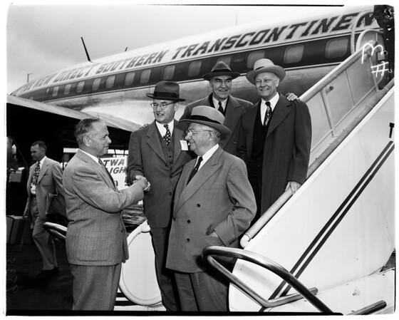 Air Line executives, 1952