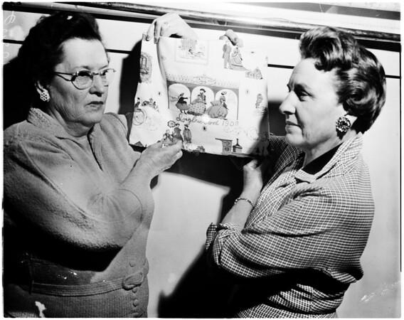 Gladys Greenleaf, 1958