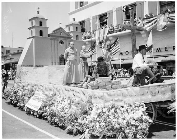 Santa Barbara Fiesta, 1952