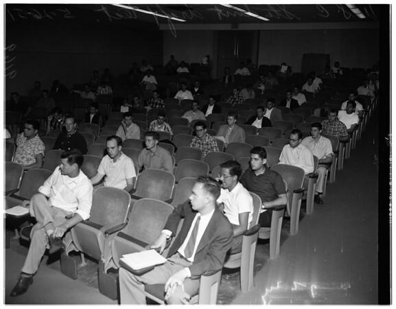 University of Southern California draft test, 1951