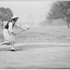 Golfing at Riviera Country Club, 1951