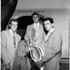 Arrival Australian Davis Cup Team, 1951