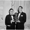 Danny Kaye award from B'nai B'rith, 1958