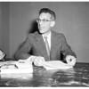 Profit sharing press conference, 1958