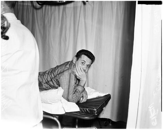 Shot in Carousel Cafe in Venice, 1957