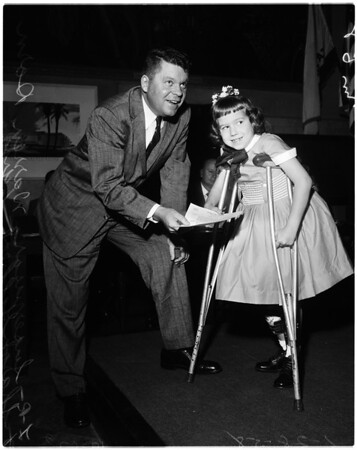 Arthritis month, 1958