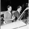 Auto train accident (Marengo Avenue crossing, Pasadena), 1951