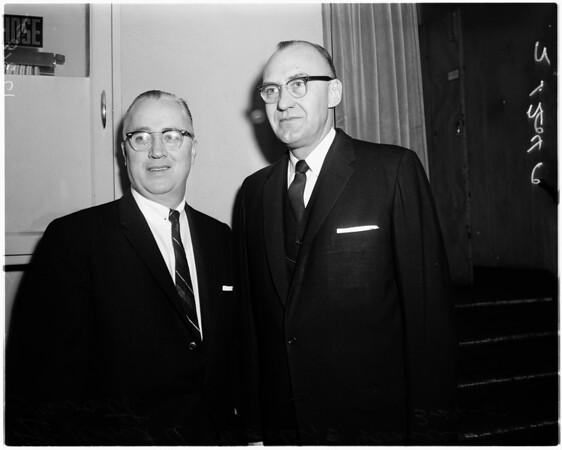 Philharmonic Auditorium Music Convention, 1958.