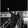 Nixon departure, 1958.