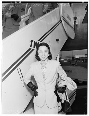 Ballerina from New York, 1951