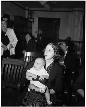 Anne Aucher -- 20 years, 1952