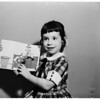 Little girl artist, 1958