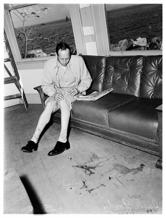 Lifeboat drill accident victim (Harbor), 1952